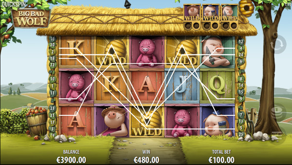 Игровой автомат Big Bad Wolf - играть в казино Вулкан Россия онлайн