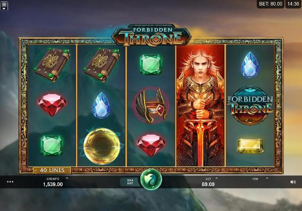 Игровой автомат Forbidden Throne - онлайн играть на деньги Вулкан 24 казино