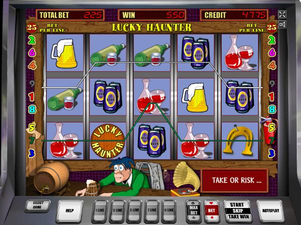 Игровой автомат Lucky Haunter - выиграй деньги без труда в казино Вулкан