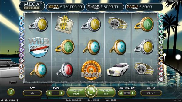 Игровой автомат Mega Fortune - удачно играй на официальный сайт Джойказино