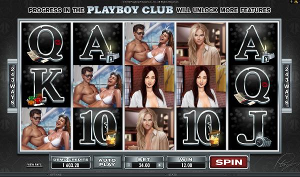 Игровой автомат Playboy - красотки из знаменитого журнала в казино Вулкан Вегас
