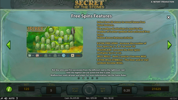 Игровой автомат Secret of the Stones - играй в самые удачные слоты Вулкан казино