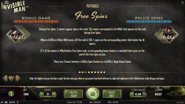 Игровой автомат The Invisible Man - играй в слот без регистрации в Вулкан 24 казино