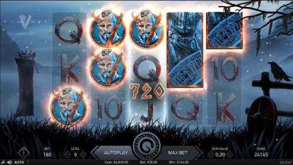 Игровой автомат Vikings - играть в слоты NetEnt на сайте Вулкан 777 казино онлайн