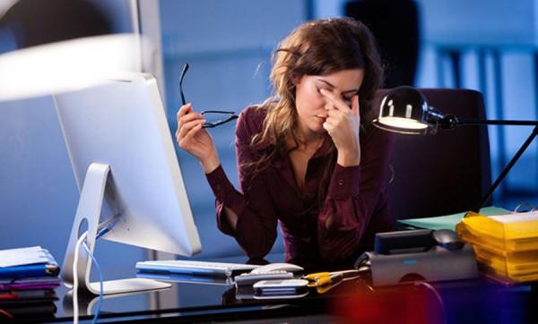 Как снять усталость с глаз при работе за компьютером